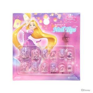 ディズニー・プリンセス ネイルチップ <子ども用つけ爪> 12枚入り ラプンツェル柄 DN82401  net-shibuya