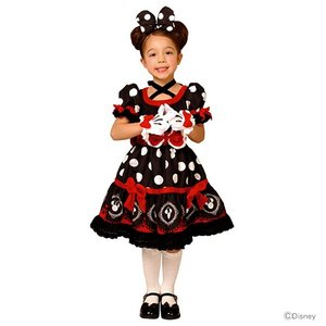 【送料無料】ミニーマウス ゴシックコスチューム Sサイズ ブラック 95076 <仮装>