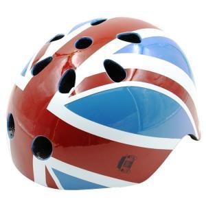 ヘルメット London Taxi<ロンドンタクシー> Flag柄 <子供用> JP8069|net-shibuya