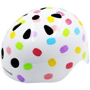 ヘルメット Macaron<マカロン> Dessert柄 <子供用> JP8071|net-shibuya