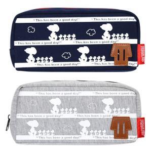 スヌーピー<SNOOPY> シングルBOXペンケース<筆箱・ペンポーチ> 2カラー 4610-crx|net-shibuya
