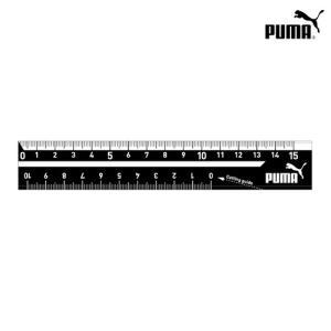 PUMA<プーマ> 定規<ものさし> 15cm シンプルロゴシリーズ 新入学文具  pm194 [M...