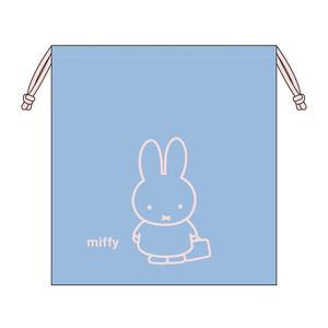 ミッフィ―<miffy> 巾着袋 L mf518 新入学文具 net-shibuya