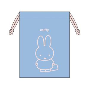 ミッフィ―<miffy> 巾着袋 M mf519 新入学文具 net-shibuya