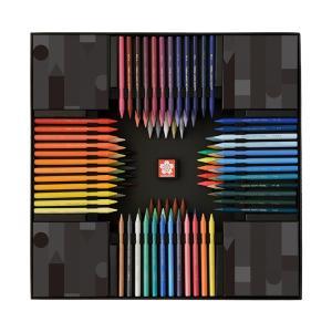サクラクレパス クーピーペンシル 100色 ブラックパッケージエディション FY100A[予約販売9月末頃発送予定] シブヤ文具