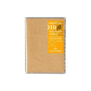 パスポートサイズのトラベラーズノートに取り付けられるクラフトファイルです。 ノートリフィルの外側に一...