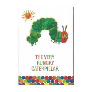 はらぺこあおむし 3年育児日記 あおむし柄 ケース付 E/C D380-07|シブヤ文具