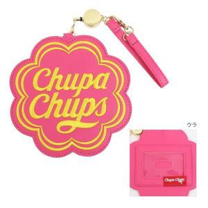 チュッパチャップス パスケース ピンク 13509 net-shibuya