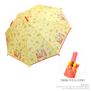 くまのプーさん 長傘 55cm ジャンプ式 34635 |net-shibuya