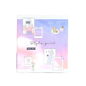 ミニプロフィールブック STYLE GIRL柄 441257 [M便 1/1]