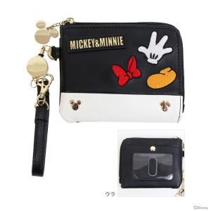 ディズニー ミッキーマウス ミニーマウス 小物入れパスケース アイコン柄 51068  net-shibuya