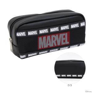 マーベル<MARVEL> BOXペンケース<筆箱> メッシュ×ロゴ 51135 |net-shibuya