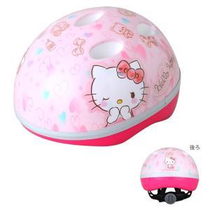 ハローキティ M&M<mimi> SG対応ヘルメット ハート柄 0479|net-shibuya