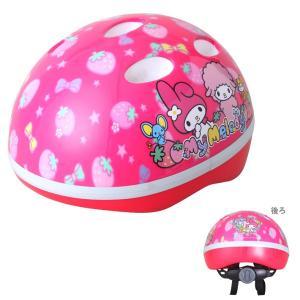 マイメロディ M&M<mimi> SG対応ヘルメット いちご柄 0495|net-shibuya