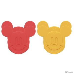 ミッキーマウス コースター 4個入り シリコン製 SLDC1 |net-shibuya