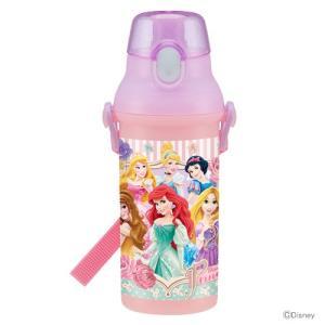 ディズニー・プリンセス 食洗機対応直飲みプラワンタッチボトル 480ml PSB5SAN |net-shibuya