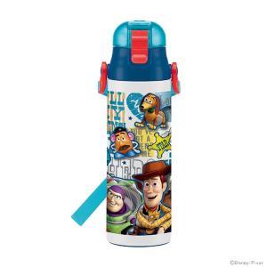 [送料無料]ディズニー トイ・ストーリー 水筒 ロック付きワンプッシュダイレクトステンレスボトル 5...