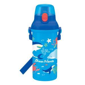 [20%OFF]オーシャンフレンズ 食洗器対応直飲みプラワンタッチボトル 480ml psb5san