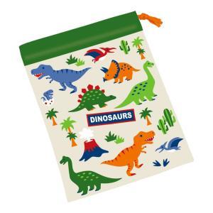 [20%OFF]ディノサウルス コップ袋<巾着S> kb62 net-shibuya