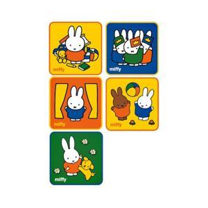 ミッフィー<miffy> ミニタオル 5枚組 ミッフィーライフ柄 [No.5825000400]|net-shibuya