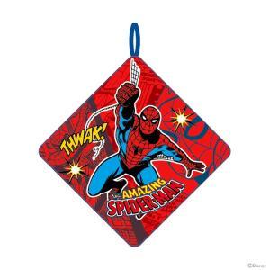 スパイダーマン<MARVEL> ループタオル スパイダーレッド柄  [No.2505009800] |net-shibuya