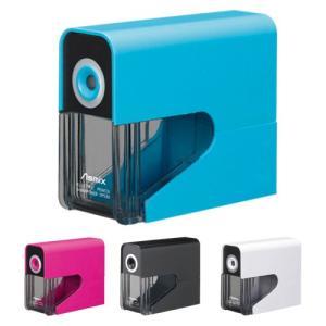 アスカ 乾電池式電動シャープナー<電動鉛筆削り> 4カラー dps30-ask|net-shibuya
