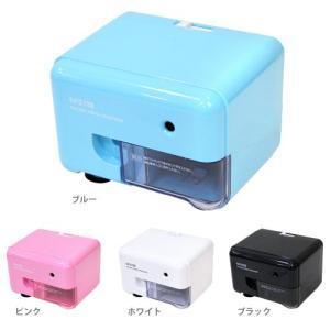 アスカ 電動シャープナー<電動鉛筆削り> 4カラー EPS112-ake|net-shibuya