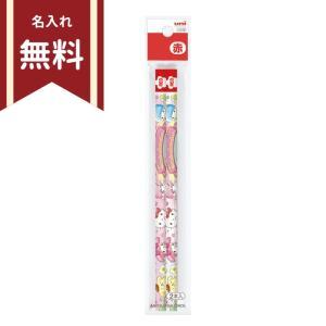 サンリオキャラクターズ 赤鉛筆 2本組 4902778658864 [名入れ無料] 新入学文具 |net-shibuya
