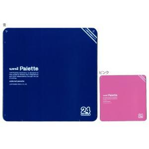 【大特価】三菱鉛筆 uni Palette<ユニパレット> 色鉛筆<ミニ鉛筆削り・補助軸ホルダー付> 24色 890級 24C PLT 3色展開 【K89024CPLTH】|net-shibuya