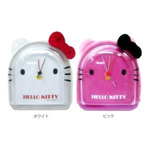 ハローキティ 耳付きアラームクロック 目覚まし時計 全2カラー KT-MAC-kkk|net-shibuya