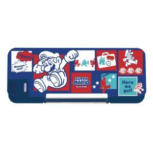 [20%OFF]スーパーマリオ 筆箱 両面開き 4902778116036 新入学文具 |net-shibuya