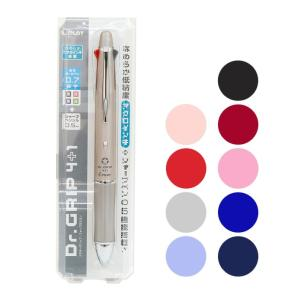 1本で黒・青・赤・緑の4色油性ボールペン(0.7mm細字)にシャープペンシル(0.5mm)で5機能が...