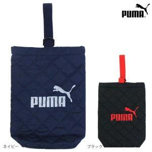 PUMA<プーマ> キルトシューズバッグ <上履き入れ> 2カラー pm127-ktu