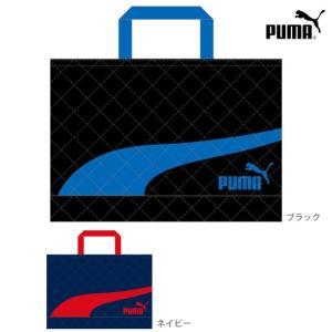 PUMA<プーマ> キルトレッスンバッグ<おけいこバッグ> ...