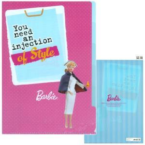 Barbie<バービー> クリアファイル A4 5ポケット 看護師柄 4901770397825|net-shibuya