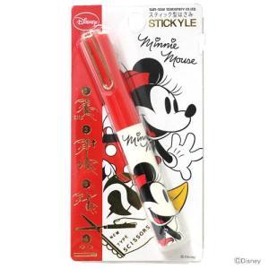 ミニーマウス スティッキールはさみ DC ミニー柄 4901770440033
