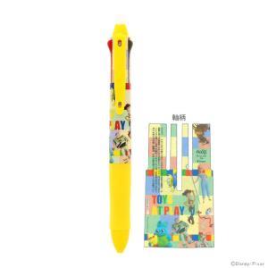 トイ・ストーリー4からポップでかわいいデザインの3色ボールペンが登場♪ 大好評のこすると消えるフリク...