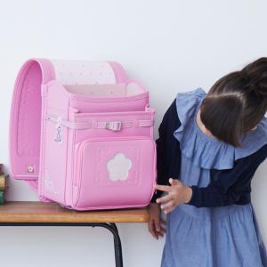 ランドセル 女の子 2019 プチフルールクラリーノ フィットちゃん 小花の型押しと刺繍のランドセル デカポケ搭載 |net-shibuya