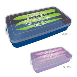 学校ねんどケース 2カラー [新入学文具] st108-ktu|net-shibuya