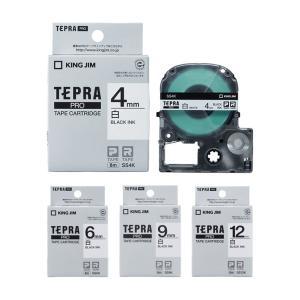 キングジム テプラプロ専用テープ(テプラテープ) SS4K・SS6K・SS9K・SS12K〔4mm・...