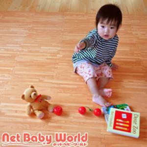フロアーマット ナチュラルウッド (ナチュラルウッド)リトルプリンセス フロアマット 【抗菌加工】|netbaby