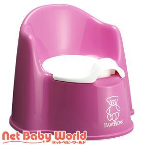 イス型オマル ピンク 979910(いす型おまる 椅子型おまる)/おまる/ブランド:ベビービョルン(...