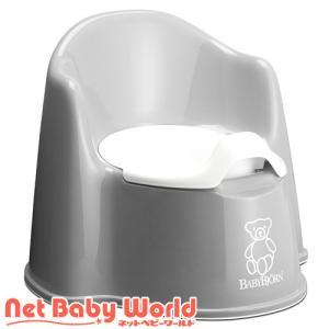イス型オマル グレー(いす型おまる 椅子型おまる)/おまる/ブランド:ベビービョルン(BABY BJ...