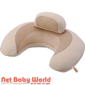 授乳クッション 授乳枕 エールベベ 3WAYクッション マカロン カーメイト CARMATE  3ウェイクッション マタニティ 産後用品 お座りサポート|netbaby