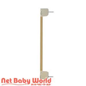 木のオートロックゲート用サイドフレーム (ナチュラル)【拡張フレーム】|netbaby