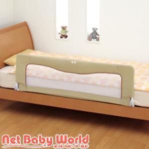 ベッドフェンス 1.2.3 ベージュ ( 1個 )/ 日本育児 ( ベビーベッド 布団 寝具 )