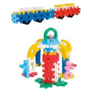 おもちゃ 知育玩具 2歳 ブロック ニューブロック はじめてのセット2 学研ステイフル 学研|netbaby|03