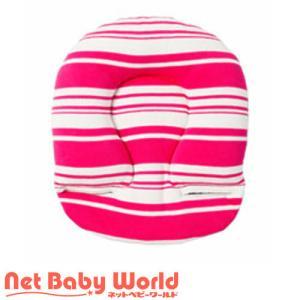 エアバギー ヘッドサポート パターン ランダムボーダーピンク ( 1個 )/ エアバギー(AIRBUGGY) netbaby