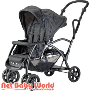ネビオ アミティエ ブラック ( 1台 )/ 中塚小児車工業所|netbaby