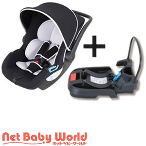 スマートキャリー イージーベースセット ブラック ( 1セット )/ 日本育児|netbaby